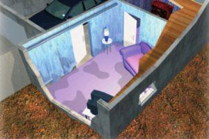 Sous-sol pour cuvelage © AQC